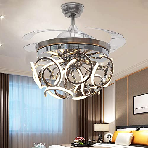 Orillon 42'' Modern Ceiling Fan Light