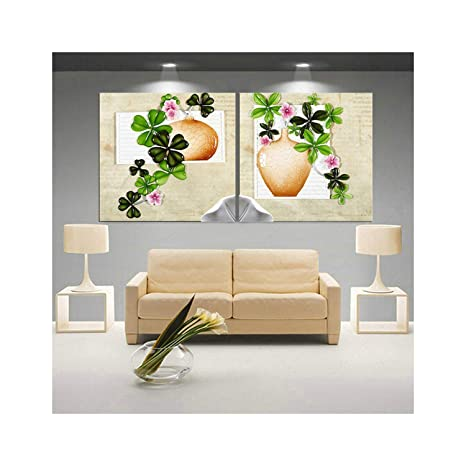 Art Flower Lotus Poster Wall Art Pinturas modulares para ...