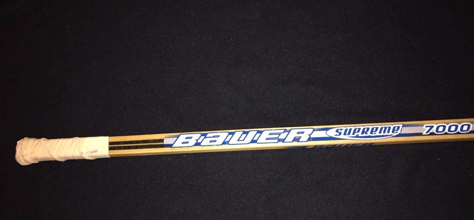 Bob Probert Autographed Signed Chicago Blackhawks Game Used Bauer Supreme Stick JSA Authentic Loa