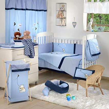 Blue Star Bumper Blancho Crib Accessory Bedding ZiXTklOPwu