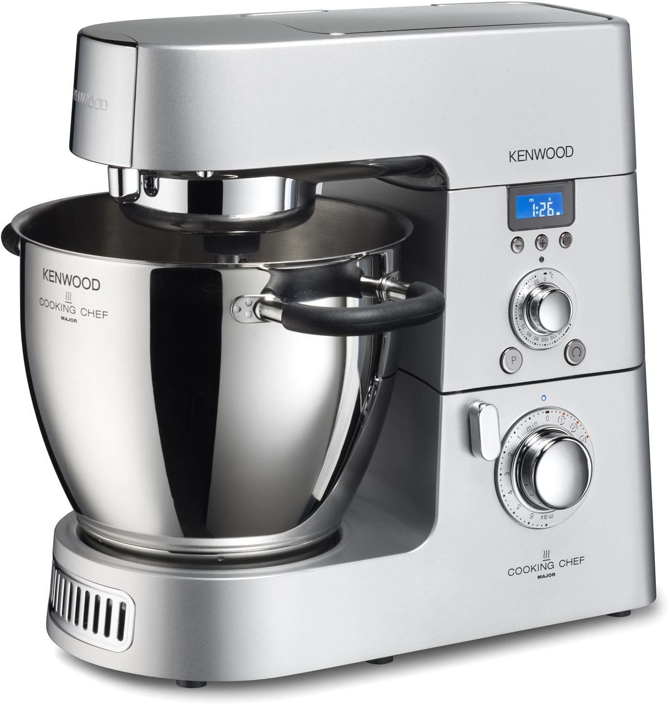 Kenwood KM080AT Máquina de cocinar, grande, color plateado: Amazon ...