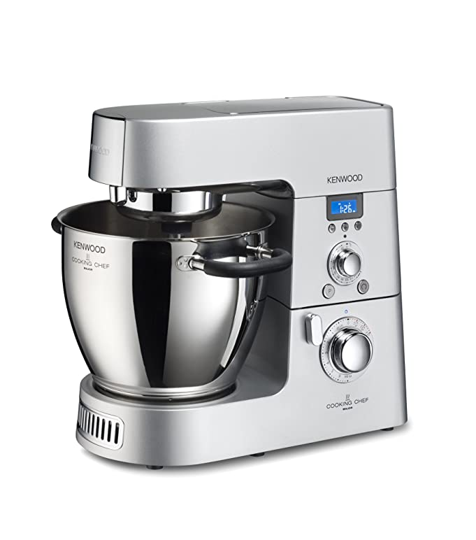 Amazon.com: Kenwood KM080AT Cooking Chef Machine, Silver: Kitchen ...
