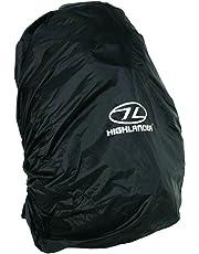 Highlander ACC028-BK - Funda de mochila, color negro, talla 40-50l