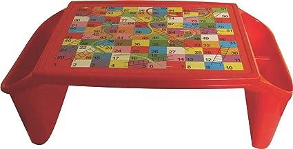 Babyjoys Multi Purpose Plastic Kids Table With Side Storage For Eating,  Study, Art U0026