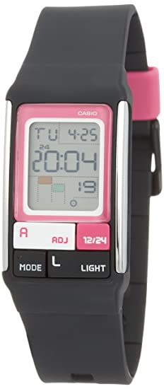 Casio Reloj Digital para Hombre de LDF-52 con Correa en Resina 19844: Amazon.es: Relojes