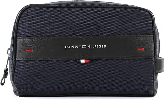 TOMMY HILFIGER AM0AM03255 ELEVATED WASHBAG ESTUCHE Hombre Blu navy UNI: Amazon.es: Ropa y accesorios