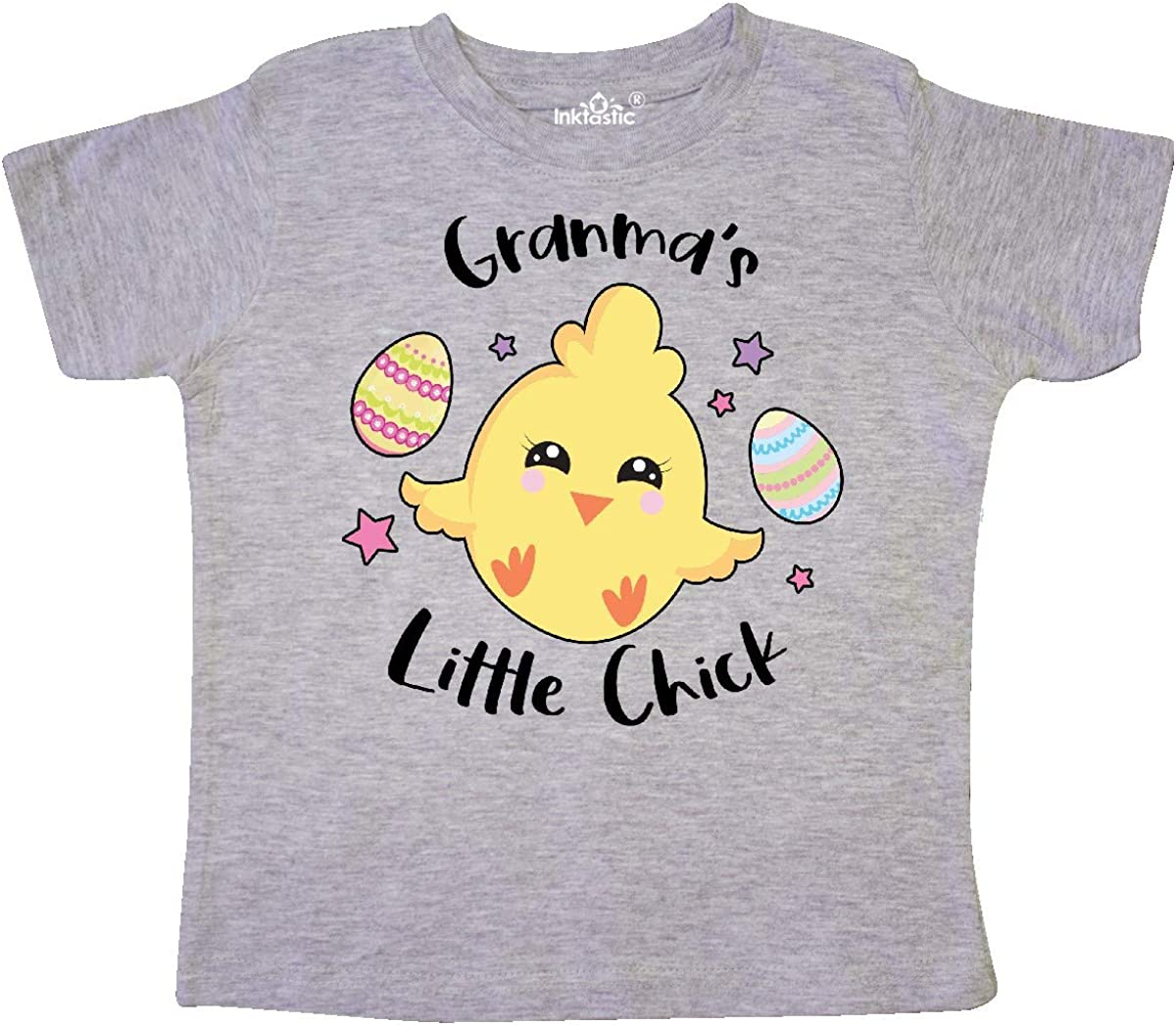 inktastic Happy Easter Granmas Little Chick Toddler T-Shirt