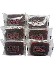 Cuban Lunch Chocolate Bar with Peanuts Candy (6-Pack) 65 Grams Per Bar