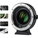 VILTROX EF-EOS M2 Auto Focus Lens Adapter 0.71x Reducer Speed Booster for Canon EF Mount Lens to Canon EF-M Mount Mirrorless