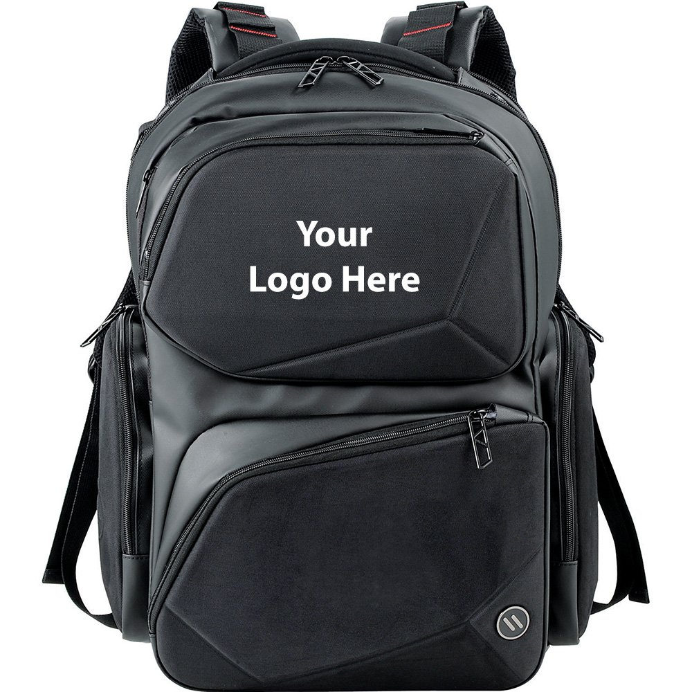 Elleven Prizm TSA 17'' Computer Backpack - 6 Quantity - $109.25 Each - PROMOTIONAL PRODUCT / BULK / BRANDED with YOUR LOGO / CUSTOMIZED