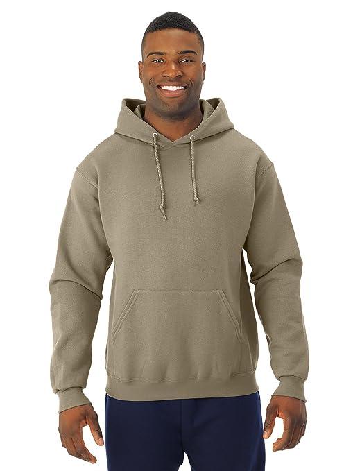 XXXX-Large Jerzees 8 oz Khaki NuBlend 50//50 Pullover Hood