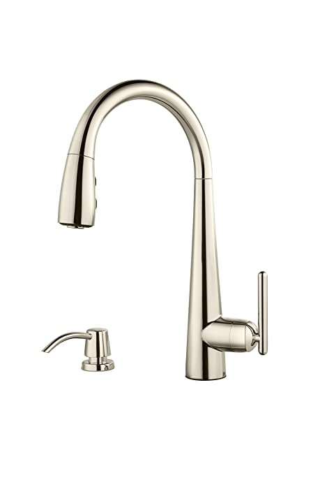 Price Pfister GT529-SMD Lita 1-Handle Pulldown Kitchen Faucet with ...