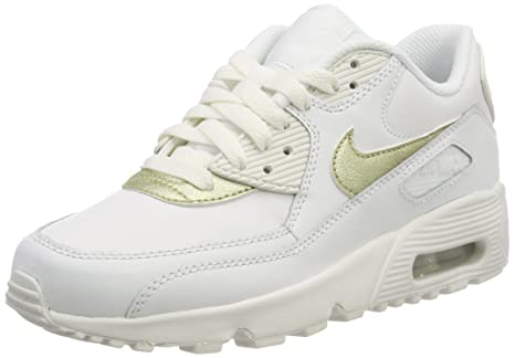 meet 774bb 779f9 Nike Air Max 90 L (GS) Scarpe da Corsa, Bambine: Amazon.it: Scarpe e ...