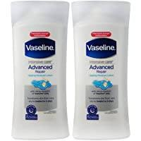 Vaseline Intensive Care Advanced Repair Lotion, Unscented, 13 Ounce (Pack of 2)