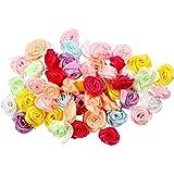 Rose, diam: 14-18 mm, 50asst.
