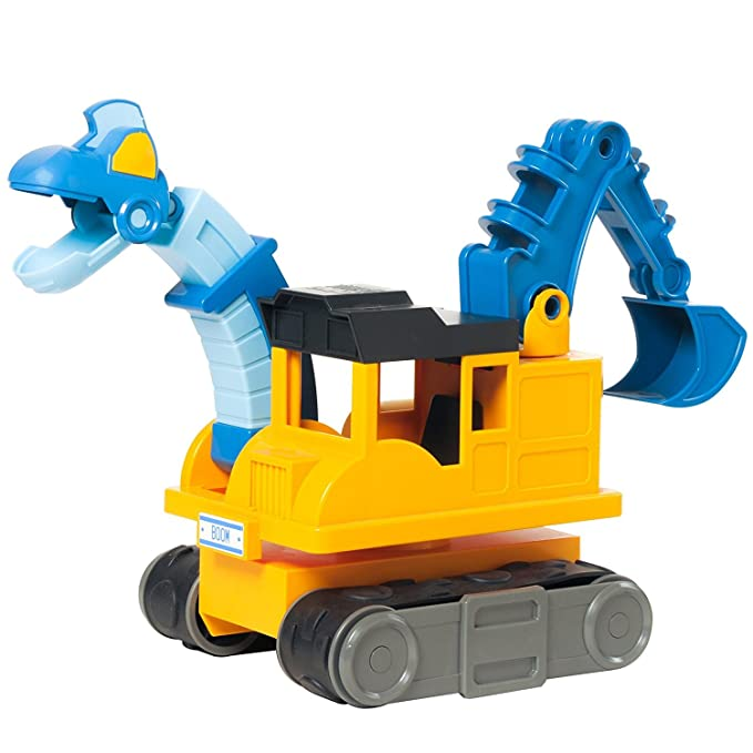 Amazon.com: Educational Insights Dino Construction Company—Boom the Brachiosaurus Backhoe: Toys & Games