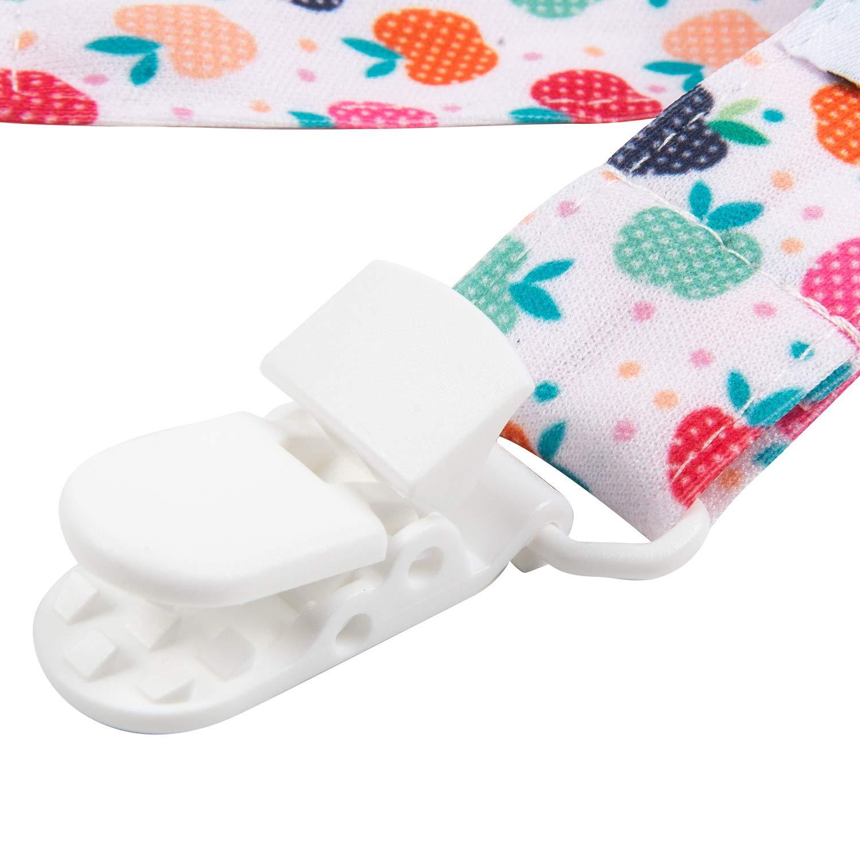 Amazon.com: Babygoal – Clips para chupete, 6 unidades ...