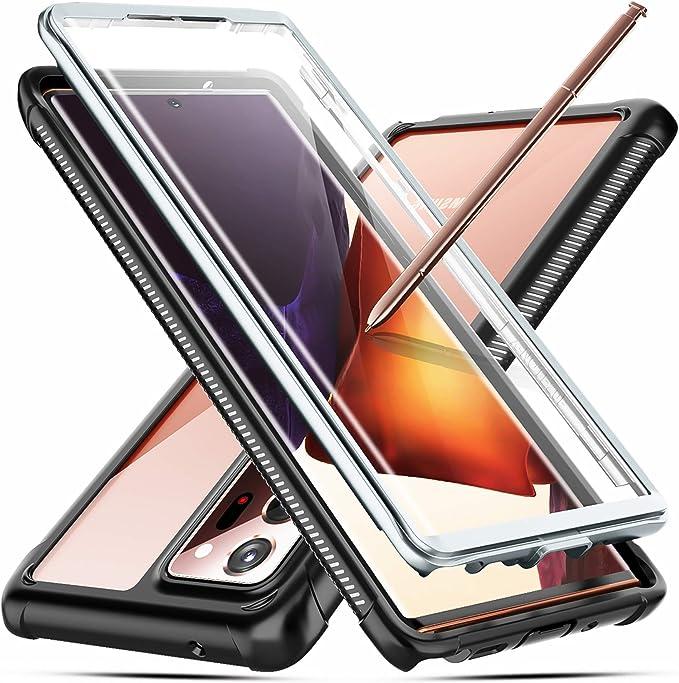Temdan Kompatibel Mit Samsung Galaxy Note 20 Ultra Hülle 360 Grad Robust Mit Integriertem Displayschutz Heavy