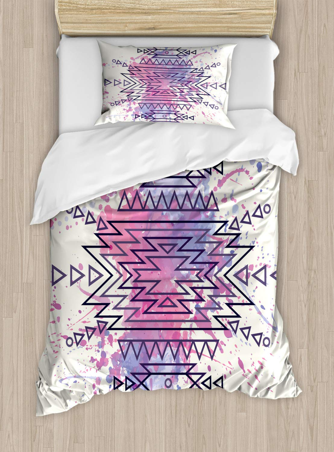 Multicolor nev/_26088/_queen Cool Fancy Hard Cute Rocker Band of Kittens with Singer Guitarist Cats Theme Print Queen//Full A Decorative 3 Piece Bedding Set with Pillow Shams Ambesonne Animal Decor Duvet Cover Set