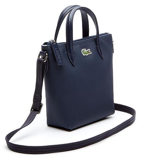 5e64326233cd00 Lacoste L.12.12 Concept XS Shopping Cross Bag Eclipse: Amazon.it: Scarpe e  borse