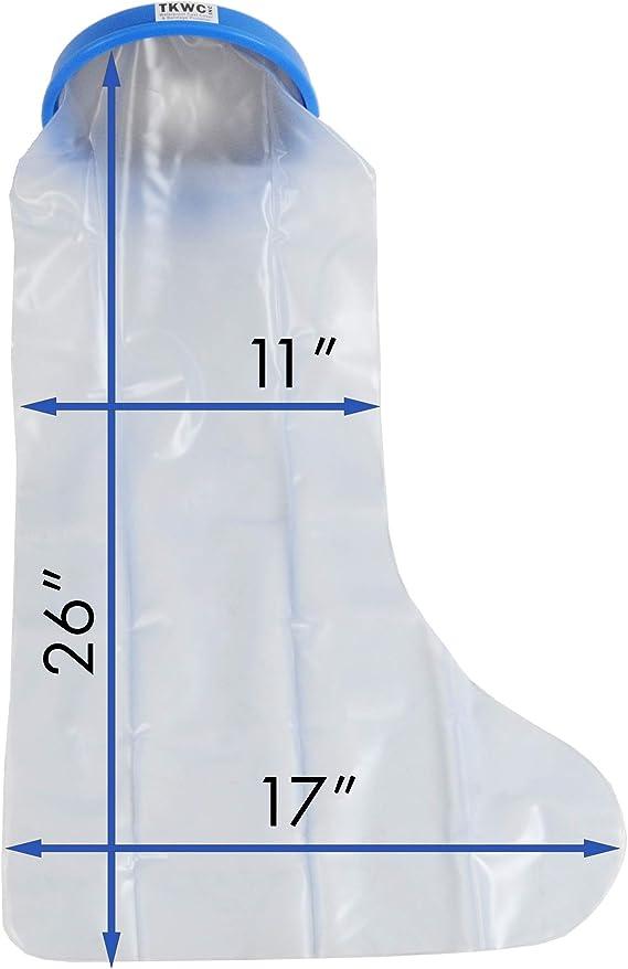 Amazon.com: TKWC Inc - Funda para piernas de ducha ...