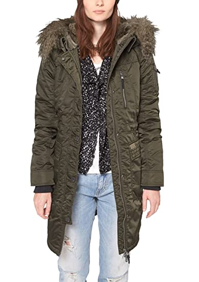 QS by S.Oliver 49.411.52.5817 Parka Manches Longues Femme