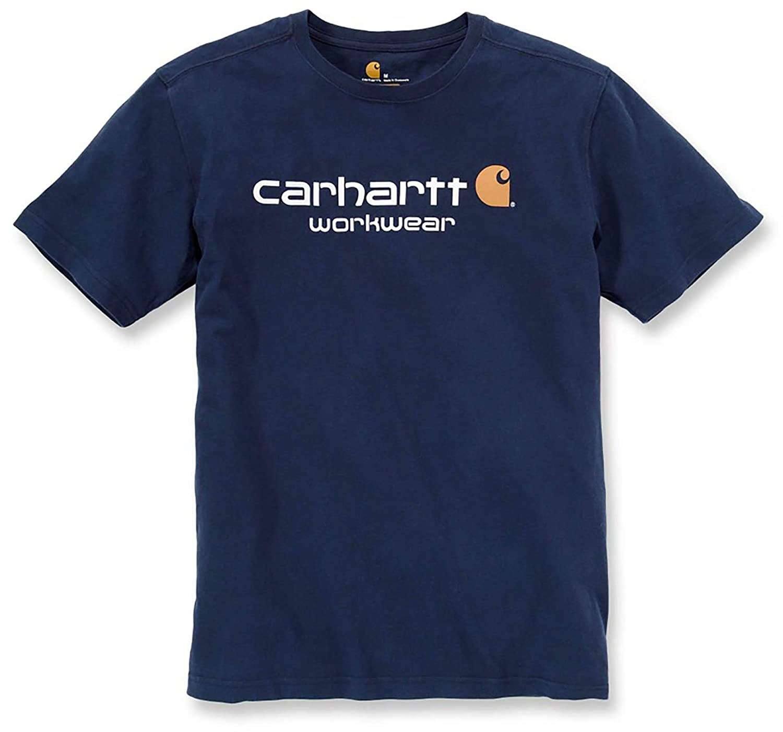 Carhartt core relaxed fit arbeitsshirt logo t-shirt 101214