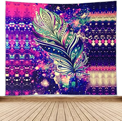 Towinle Pared Alfombra Pared Toalla Mandala Boho Pared Colgantes ...