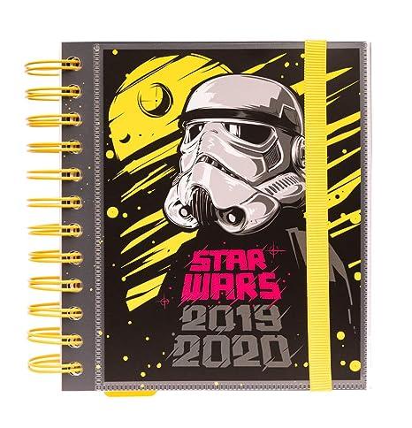 Agenda escolar 2019/2020 día página M Star Wars