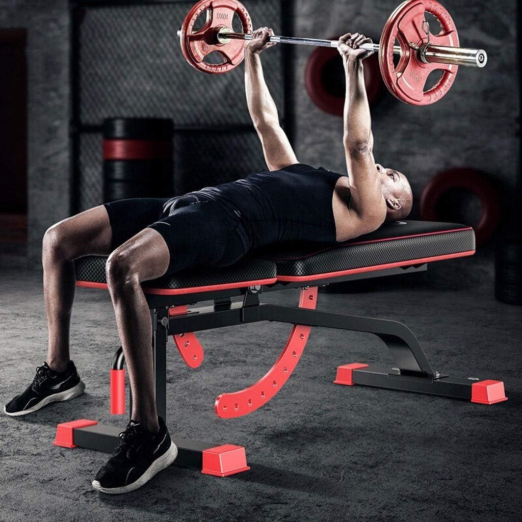 Banco de peso ajustable Banco de entrenamiento - Banco multifuncional con mancuernas, Banco de abdominales Plegable Entrenamiento físico Banco de pesas Banco ajustable for entrenamiento de cuerpo comp: Amazon.es: Deportes y aire