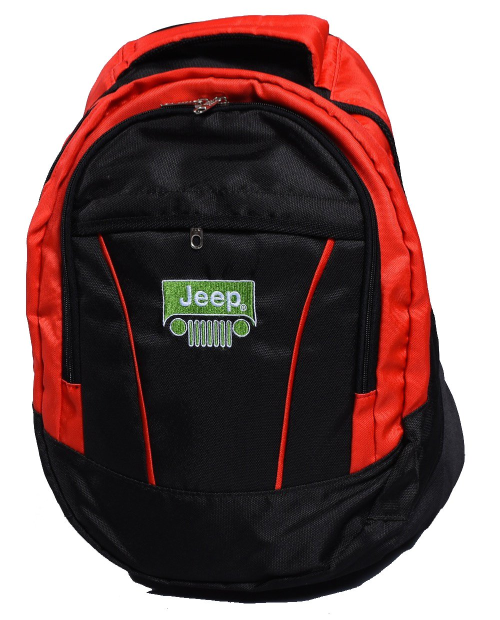 ジープロゴバックパックバッグユニセックスレジャースクールレジャーショルダー B01NBMP6DW