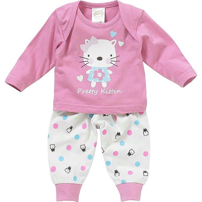 Lullaby Baby & Toddler Nightwear Grace Taylor diseño de Luca Johnson UK de Gatito Pijama Bañador