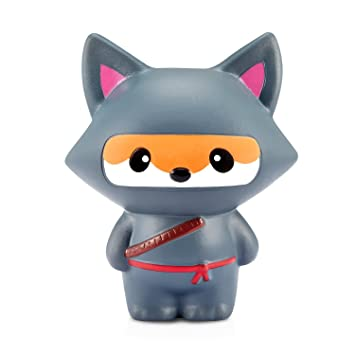 Yojoloin Squishies Ninja Fox Squishy Super Jumbo Descompresión Slow Rising Fidget Toy Scented Rare JUNKE Diversión, (Fox)