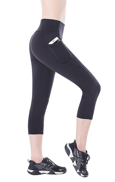 Amazon.com: EAST HONG - Mallas de yoga para mujer ...