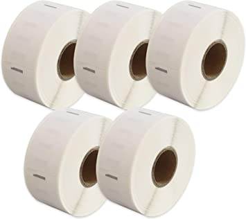 Etichetta per rotolo: 500 per Dymo LabelWriter 4XL 450 400 330 320 310 Twin Turbo Duo Seiko SLP 450 400 200 120 100 Pro Plus Printing Pleasure Compatibile Rotolo 11355 19mm x 51mm Etichette adesive
