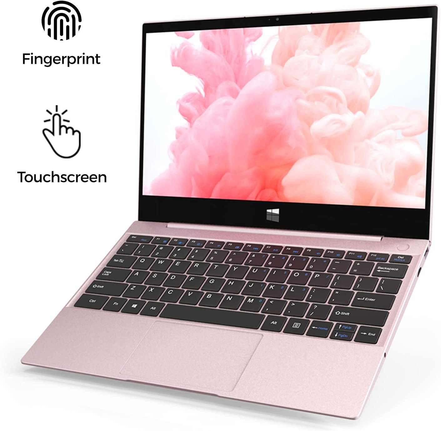 "XIDU 2020 Newest 12.5"" Tour Pro Touchcreen Laptop with Backlit Keyboard Ultrabook 