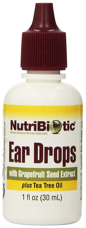 Gotas para los oídos con el extracto de semilla de pomelo, 1 oz fl (30 ml) - NutriBiotic: Amazon.es: Salud y cuidado personal
