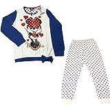 Pyjama pour fille Disney Minnie pur coton interlock mesures 3–4-5–6-7ans 22810