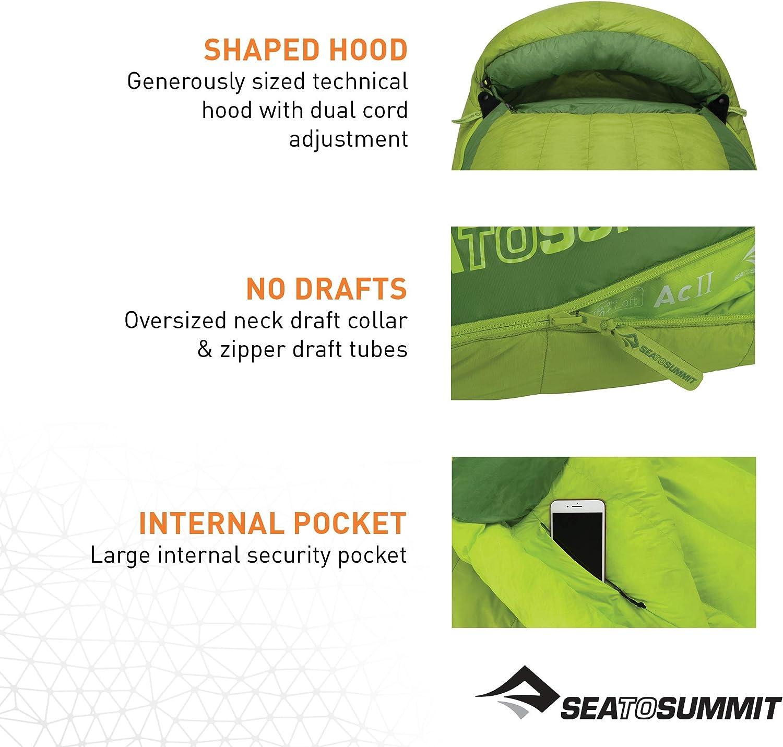 Sea to Summit Ascent ACII Sleeping Bag Long