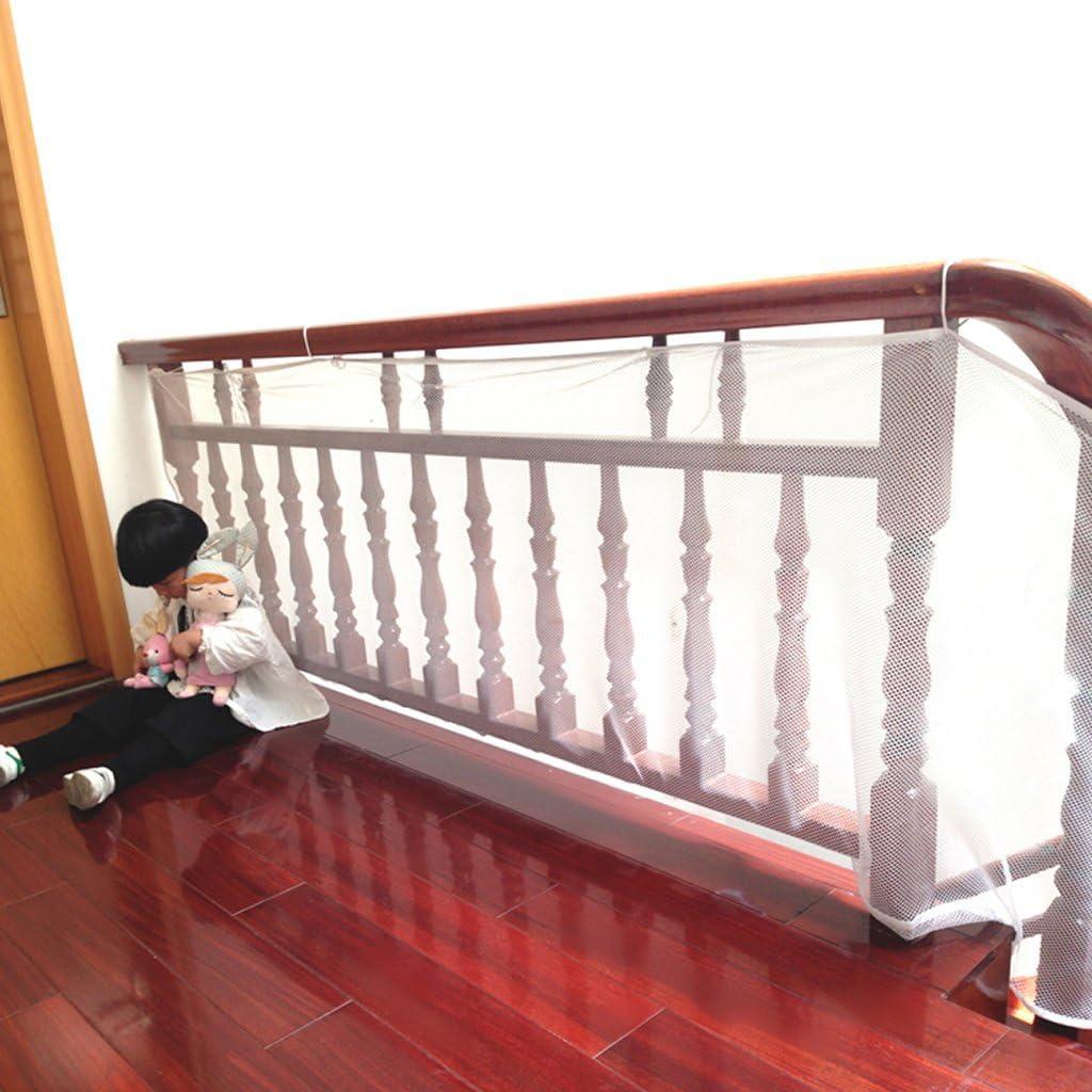 zerlar Red de seguridad balcón escalera Baranda pantalla para los niños bebé Niños Niños Mascotas 300 x 75 cm: Amazon.es: Bebé