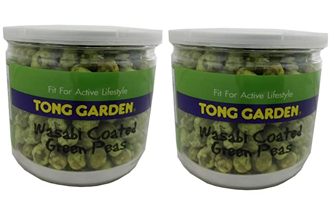 Tong Garden Wasabi Coated Green Peas, 150g: Amazon.in: Grocery ...