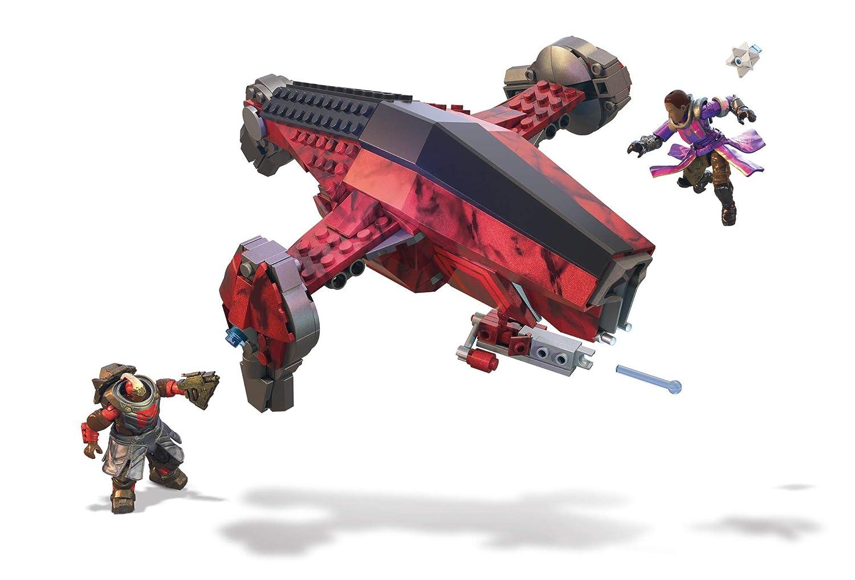 39de409357c Amazon.com  Mega Construx Destiny Cabal Attack Jumpship Building Set  Toys    Games