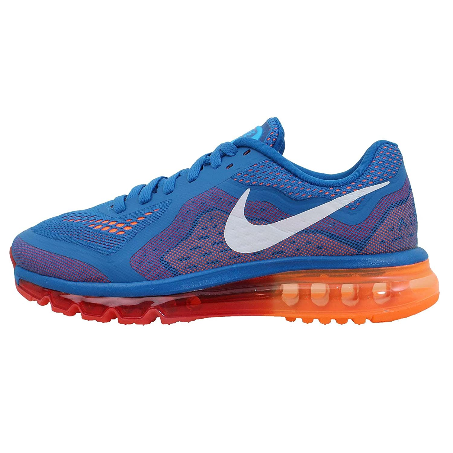Synthetic Nike Blue Air Mesh amp; 2014 621077 Men's Shoes Max Running CqCrxw70
