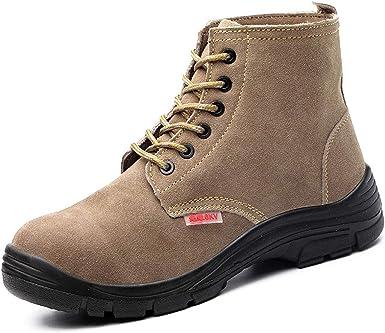 Dxyap Botas de Seguridad S3 Zapatillas de Seguridad Hombre con ...