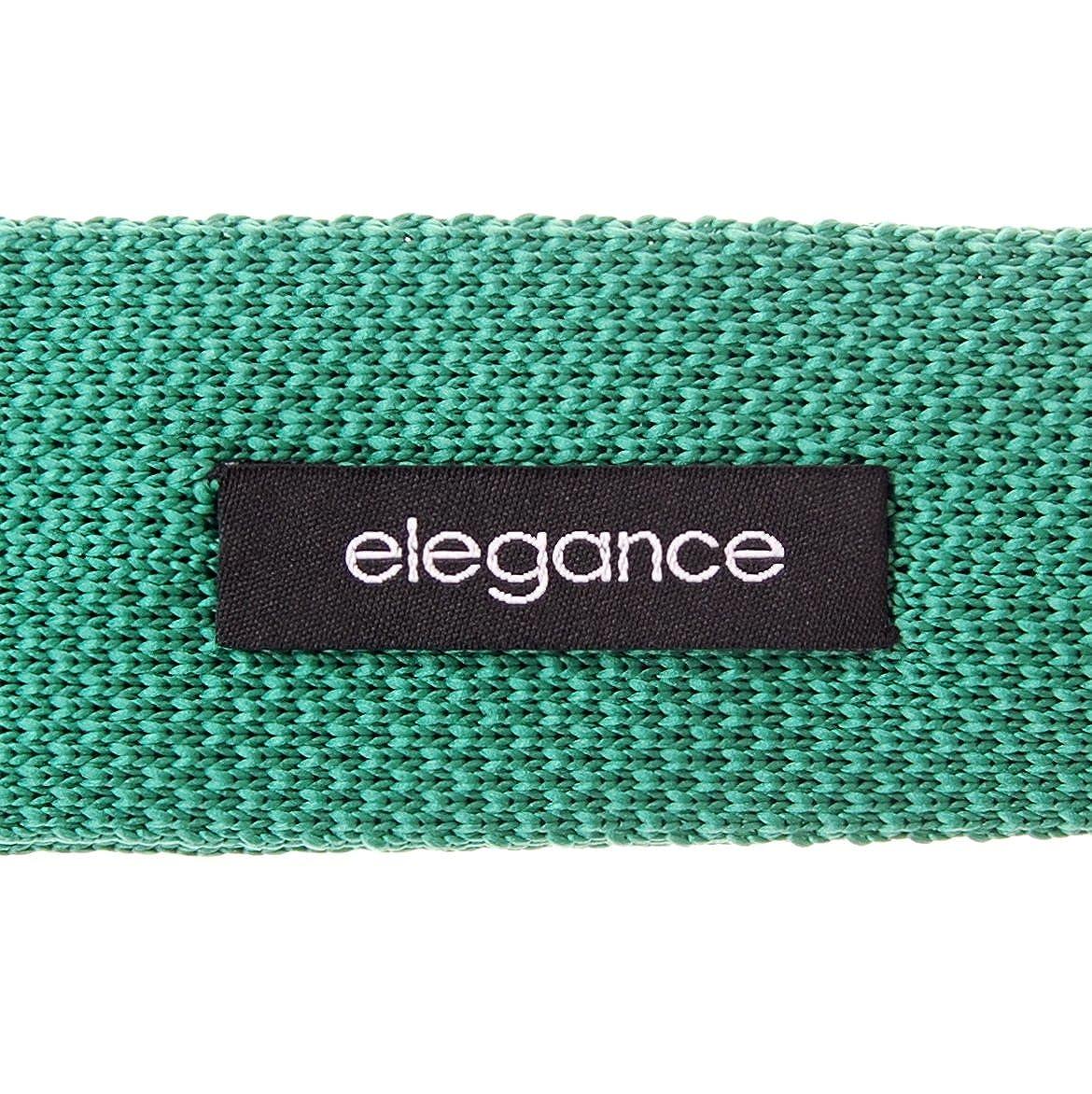 Retreez Herren Schmale Krawatte Strickkrawatte Knit Tie Vintage Smart Casual 5 cm