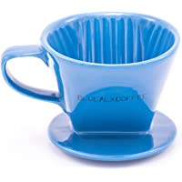 Blue Alx Coffee Colorful Coffee Dripper (Blue)