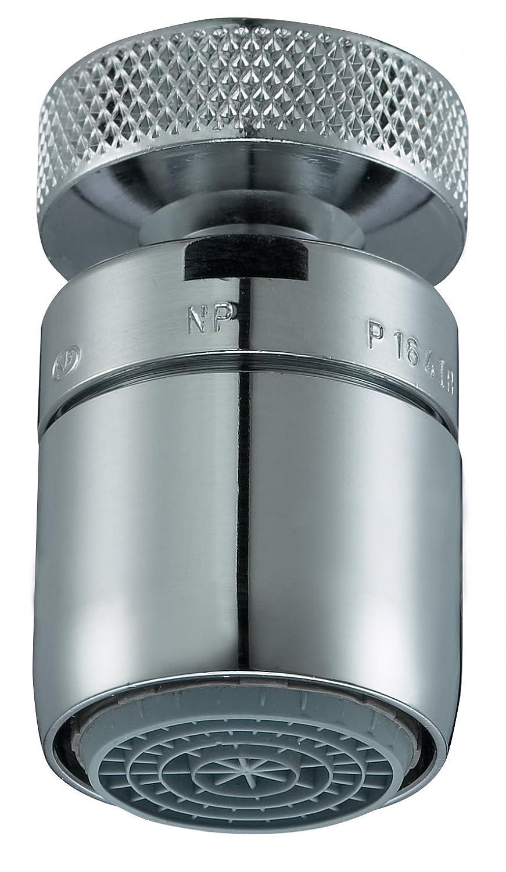 Neoperl 1084097 7807630 Cascade SLC IG M22 Articulation sphé rique avec Aé rateur/Ré glage du jet Chromé