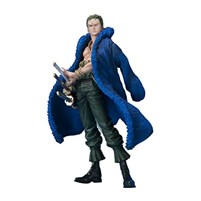 One Piece: Roronoa Zoro 20th Anniversary Ver Figuarts Zero PVC Figure by Bandai: Toys & Games