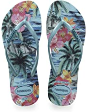 Havaianas Slim Tropical, Tongs Femme