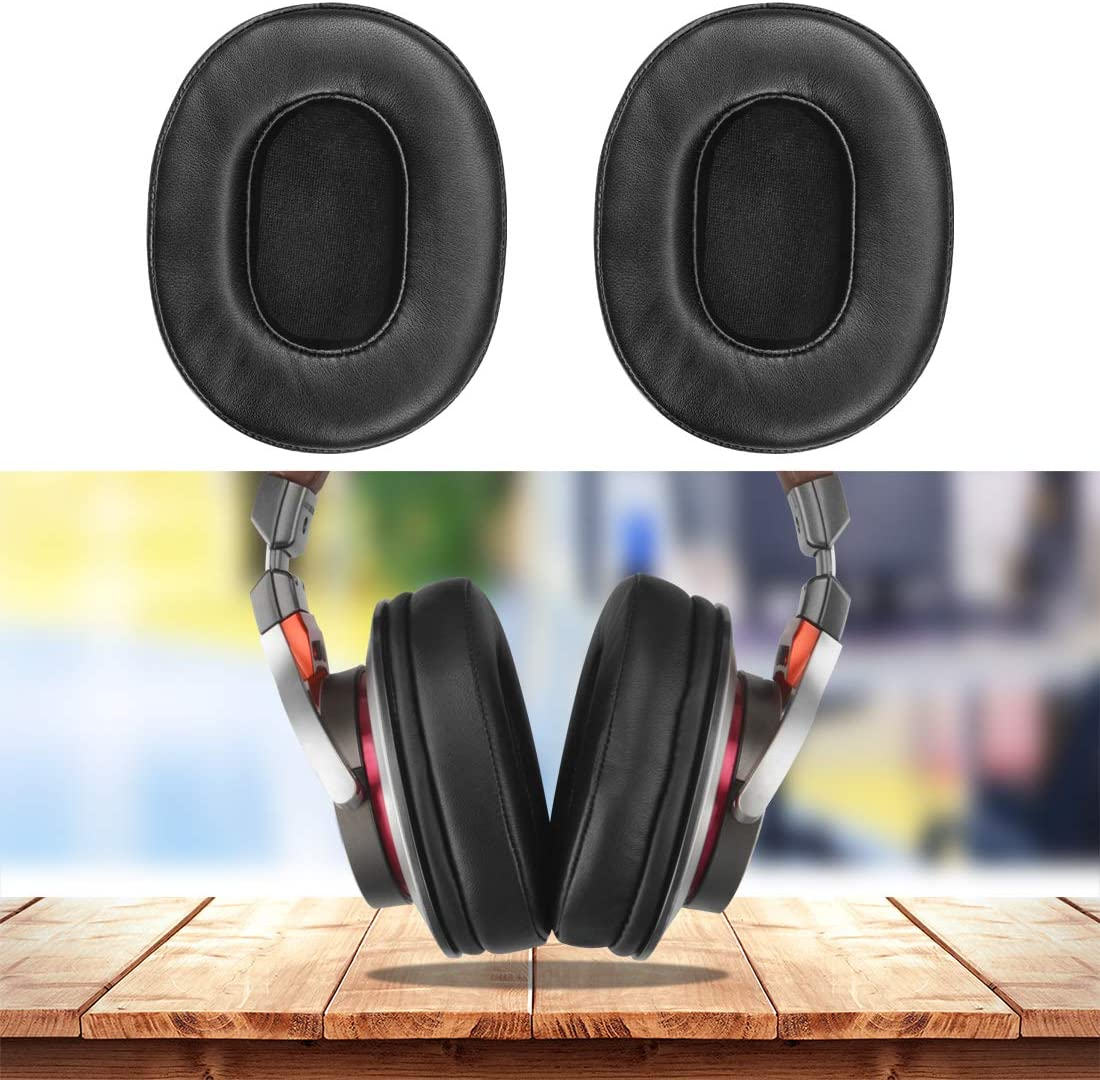 M50 Headphones Replacement Ear Pad//Ear Cushion//Ear Cups//Ear Cover//Earpads Repair Parts Black//Sheepskin MSR7GM Geekria Earpads Replacement for ATH MSR7 MSR7NC MSR7BK